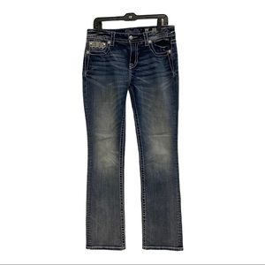 Miss Me Mid-Rise Slim Bootcut Jeans Size 31